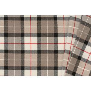 Schotse Ruit / Tartan Check Stretch Taupe