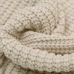 Gebreide stof, Big Knit Cable Light Beige