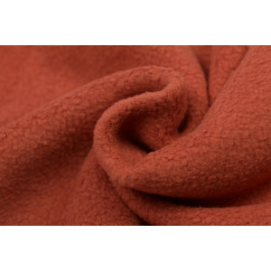 Fleece Katoen Sheepskin Rust