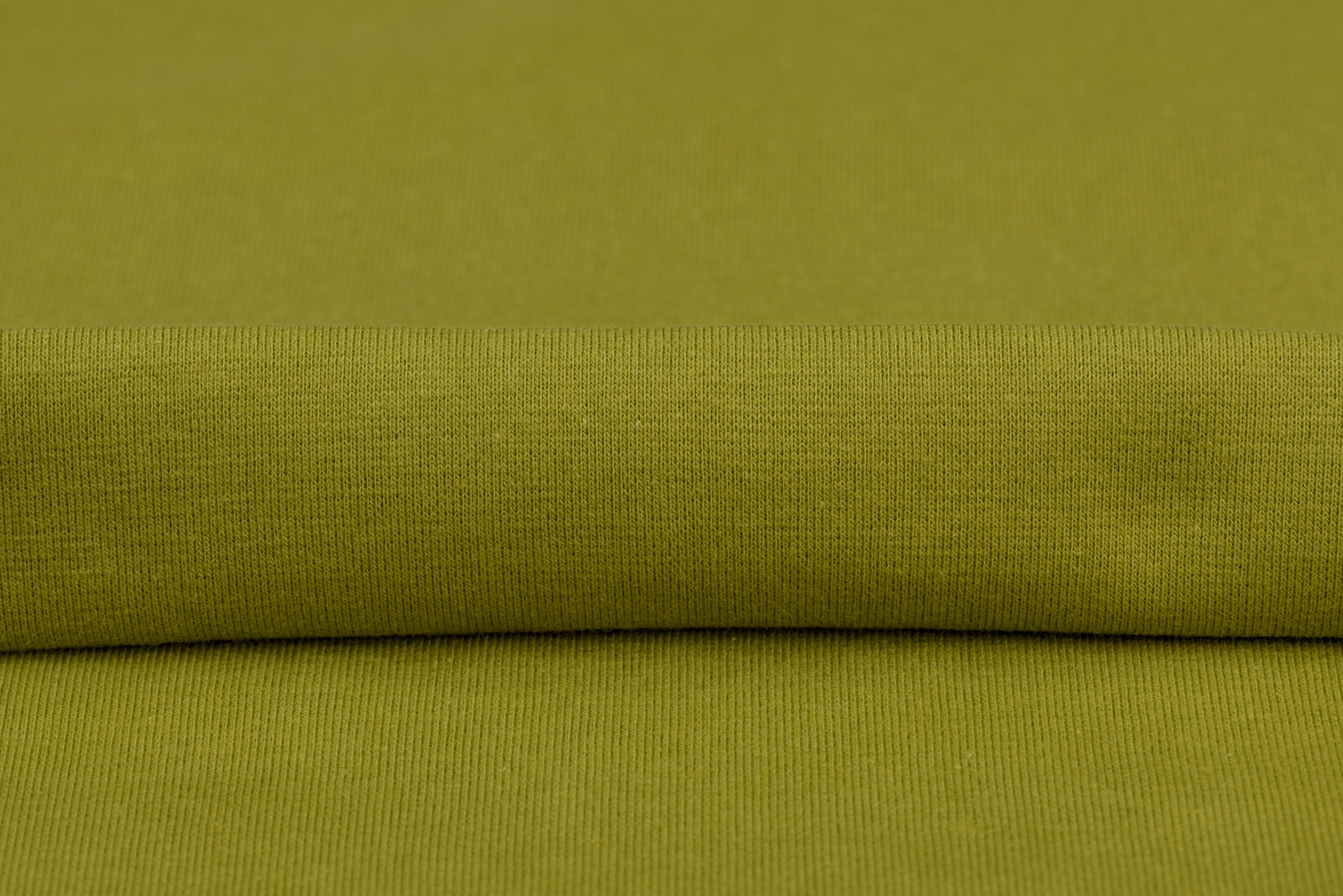 by Poppy designed for you GOTS Boordstof Moss Green