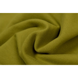 by Poppy designed for you GOTS French Terry Brushed Uni / Effen Moss Green