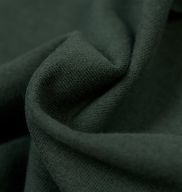 by Poppy designed for you GOTS French Terry Brushed Uni / Effen Khaki