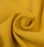 by Poppy designed for you GOTS French Terry Brushed Uni / Effen Ochre