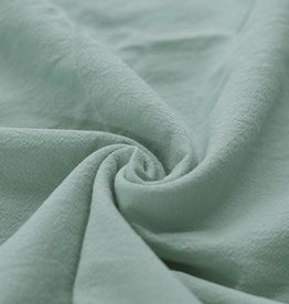 Washed Cotton Uni / Effen Dusty Mint
