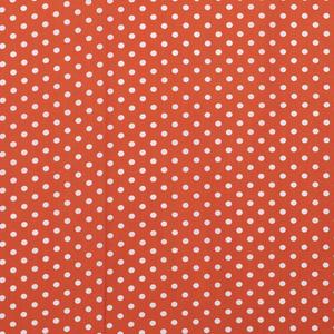 Katoen middel stip oranje