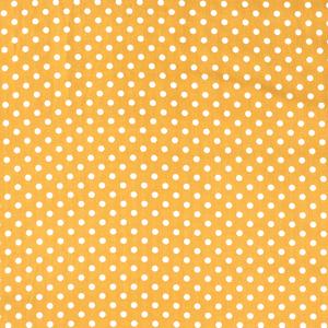 Katoen middel stip geel