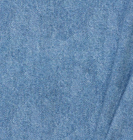 by Poppy designed for you French Terry GOTS Digital Jeans Light Blue