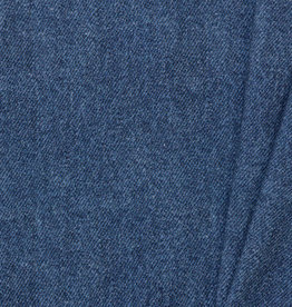 by Poppy designed for you French Terry GOTS Digital Jeans Medium Blue