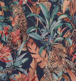 Gobelin Premium Leopard Fantasy Jungle