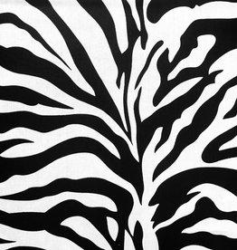 Katoen Zebra Black & White