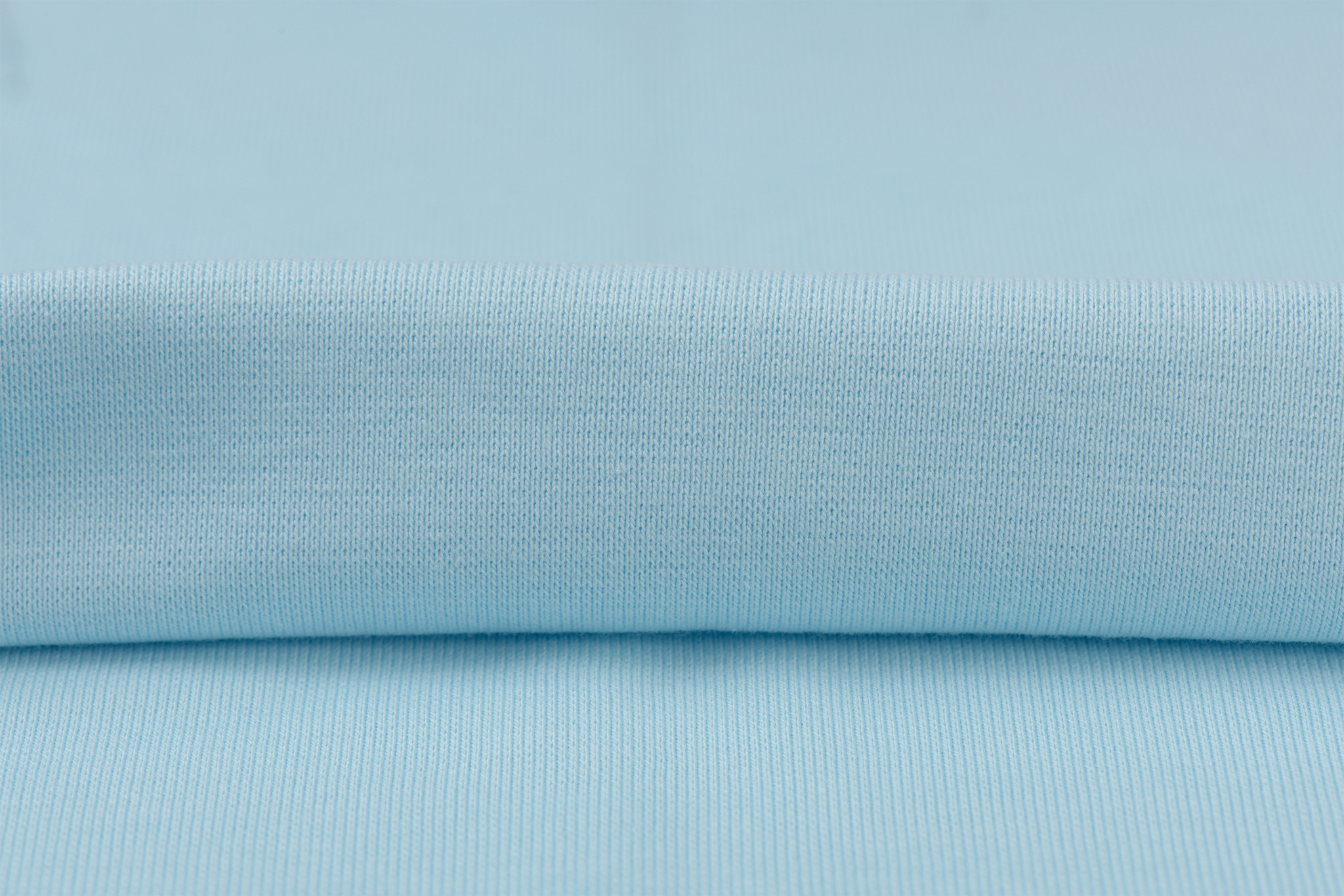 by Poppy designed for you GOTS Boordstof Light Blue