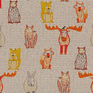 Linenlook Wood Animals