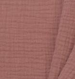 Baby Cotton / Mousseline Uni / Effen Klei Roze