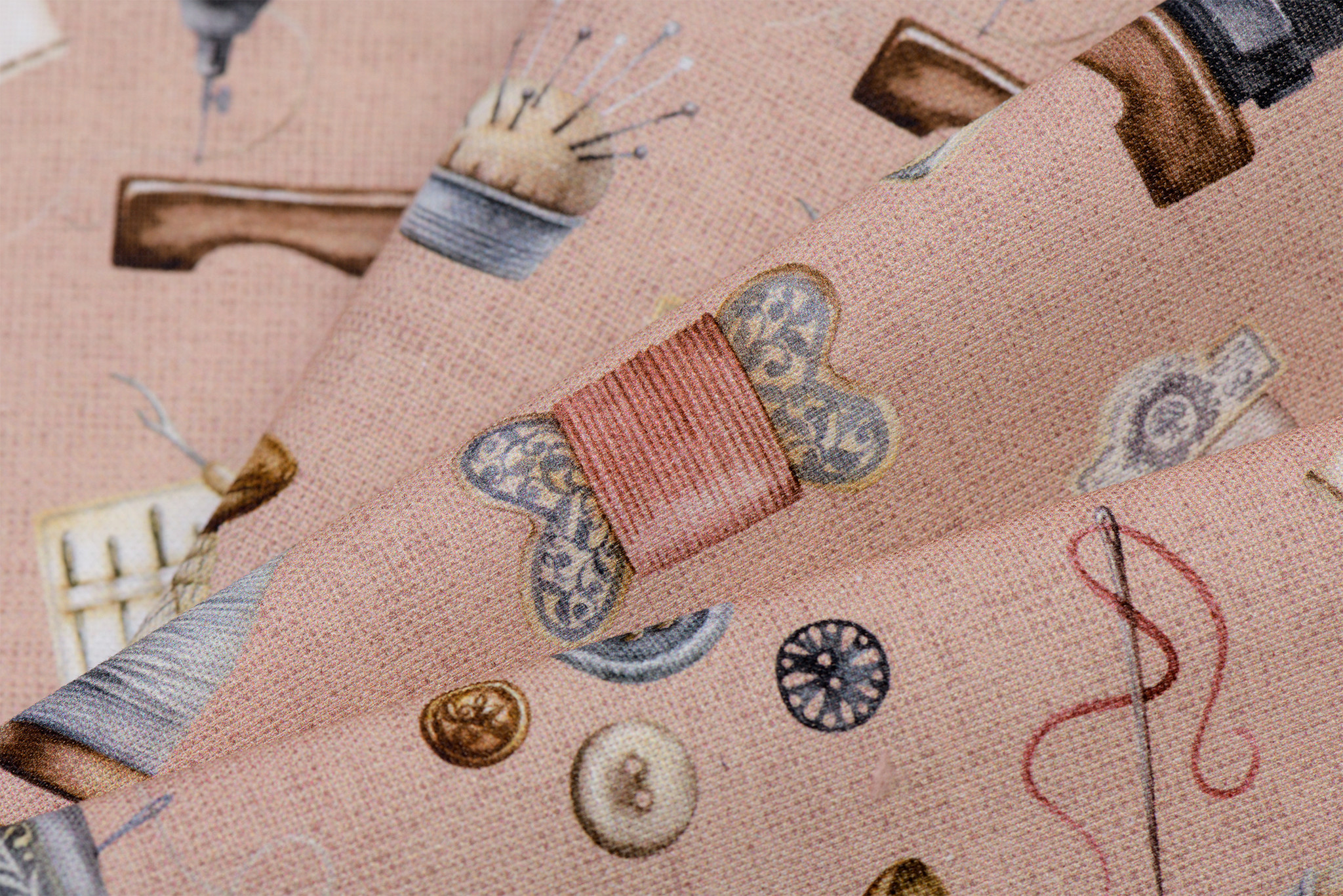 by Poppy designed for you Decostof Sewing Kit Rose