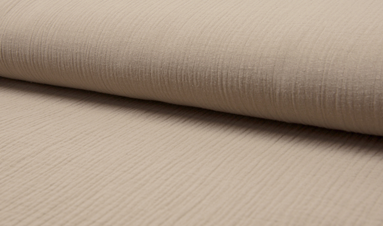 Baby Cotton / Mousseline Uni / Effen Beige
