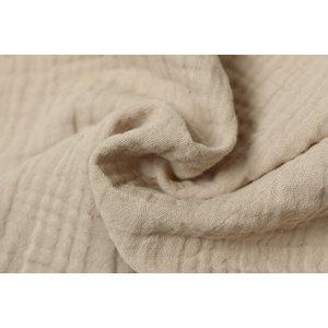 Baby Cotton / Mousseline Uni / Effen Licht Beige