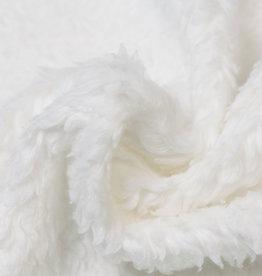 Cotton Teddy Stof Off White