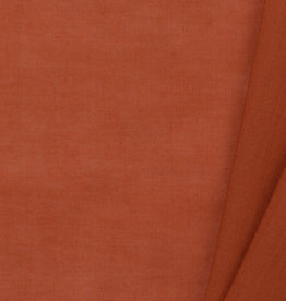 by Poppy designed for you GOTS Cotton Voile Cognac