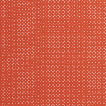 Katoen mini stip oranje