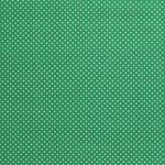 Katoen mini stip groen