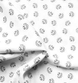Katoen Hedgehog Black & White