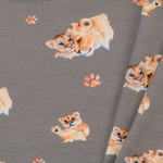 Toff Designs Jersey Lion Taupe