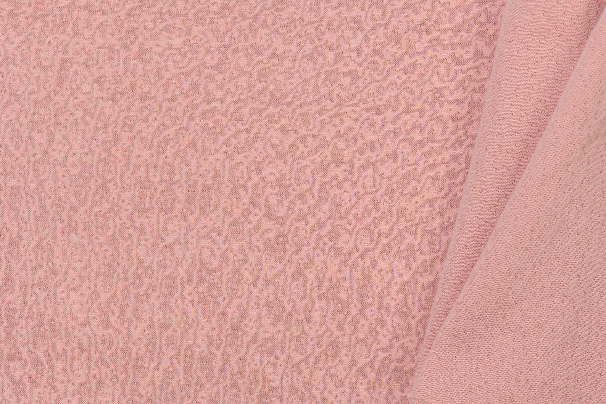 Triple Cotton Jersey Collino Light Old Rose