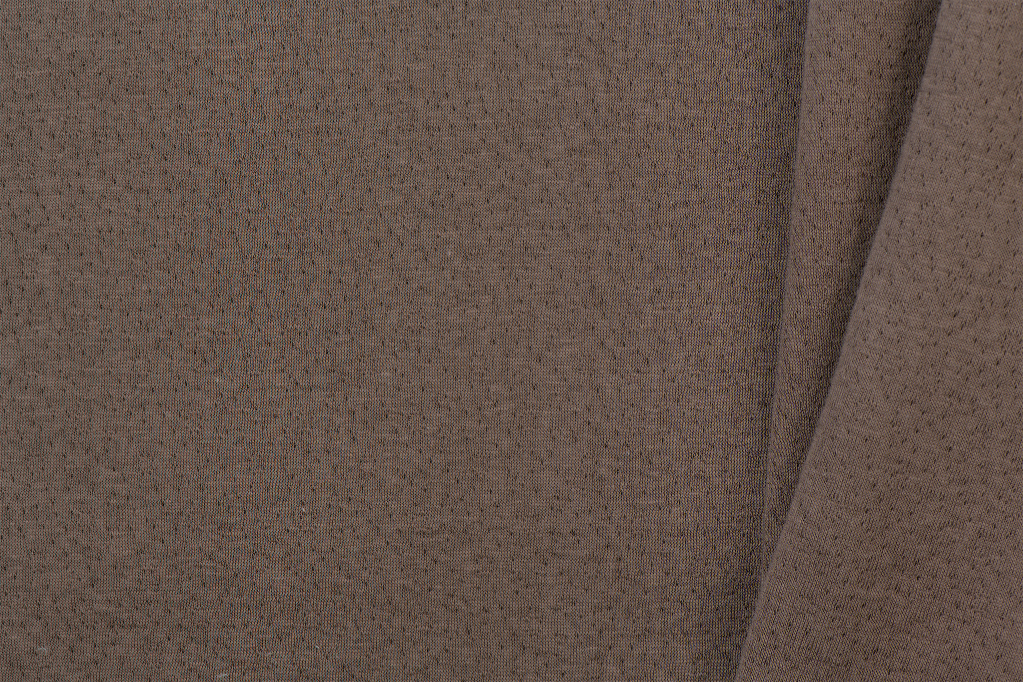 Triple Cotton Jersey Collino Brown