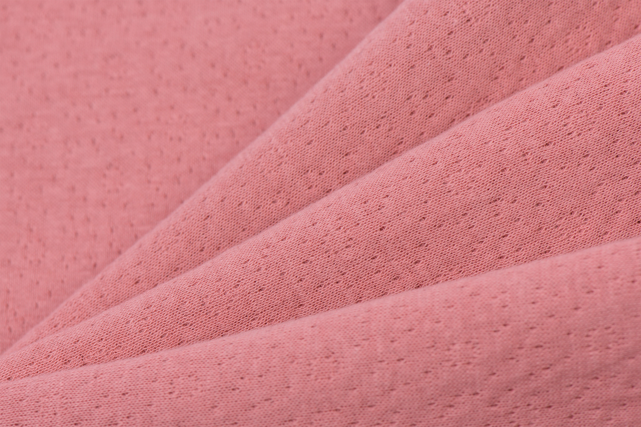 Triple Cotton Jersey Collino Old Rose