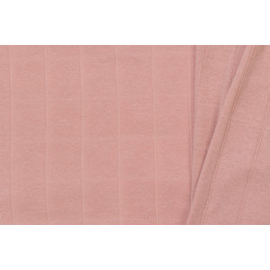 Hydrofiel Jersey Uni / Effen Light Old Rose