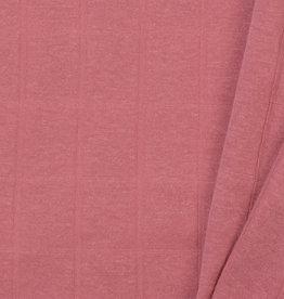 Hydrofiel Jersey Uni / Effen Oud Rose