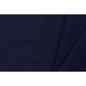 by Poppy designed for you GOTS Cotton Voile Navy