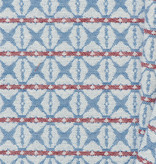 Gobelin Stof Abstract Blue / Red