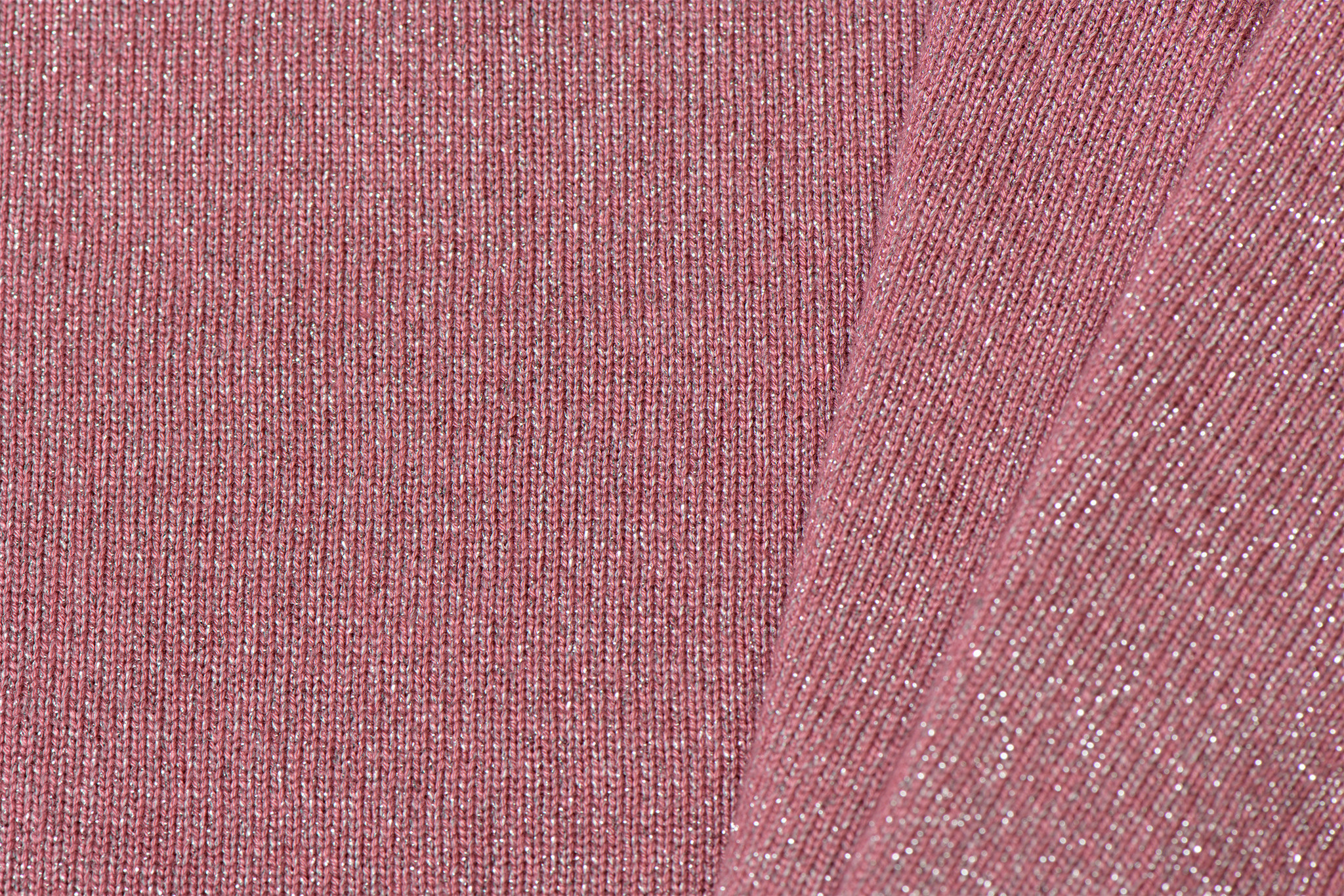 Knitted Shine Luricio Oud Rose
