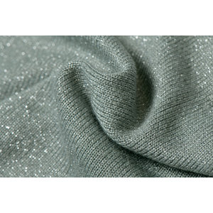 Knitted Shine Luricio Dusty Mint
