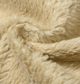 Cotton Teddy Stof Licht Camel