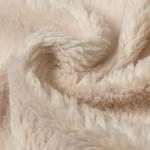 Cotton Teddy Stof Licht Beige
