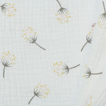 Baby Cotton / Mousseline Dotted Blowball Off White