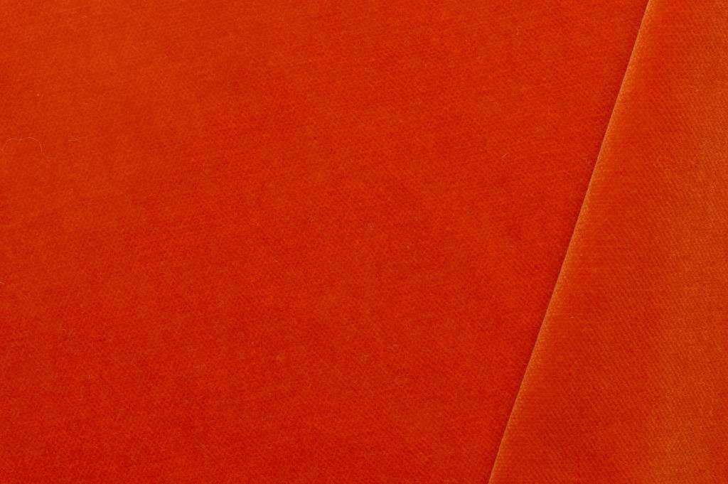 Fluweel oranje