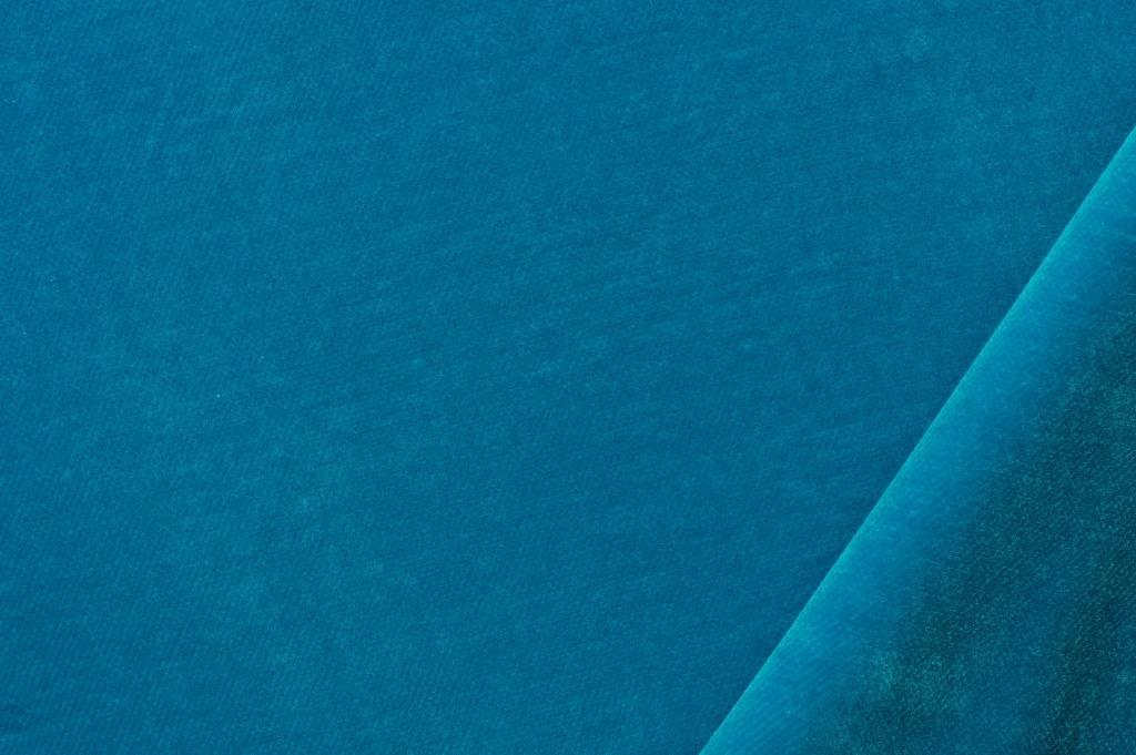 Fluweel turquoise