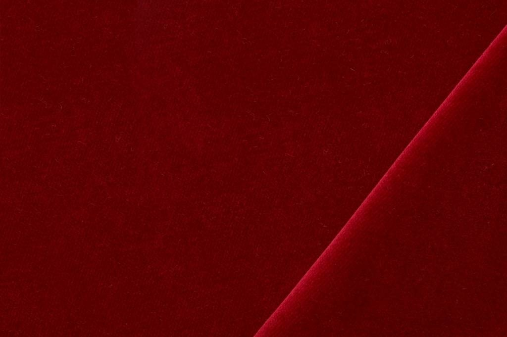 Velours stof, rood