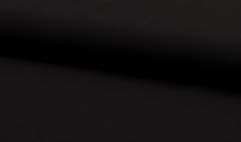 Voile / Chiffon Zwart