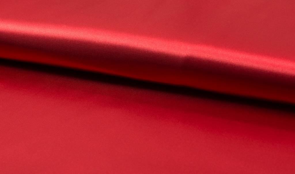 Satijn De Luxe, Rood