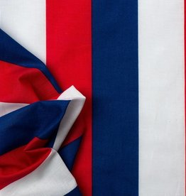 Vlag gestreept Rood/Wit/Blauw