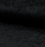 Velours de pannes uni zwart