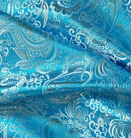 Brokaat Turquoise