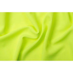 Crystal polyester Fluoricerend citroengeel