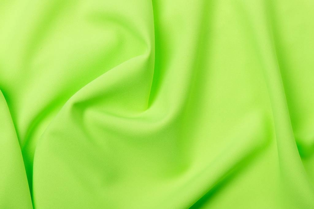 Crystal polyester Fluoricerend groen