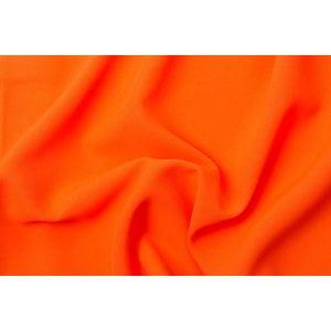 Crystal polyester Fluoricerend oranje