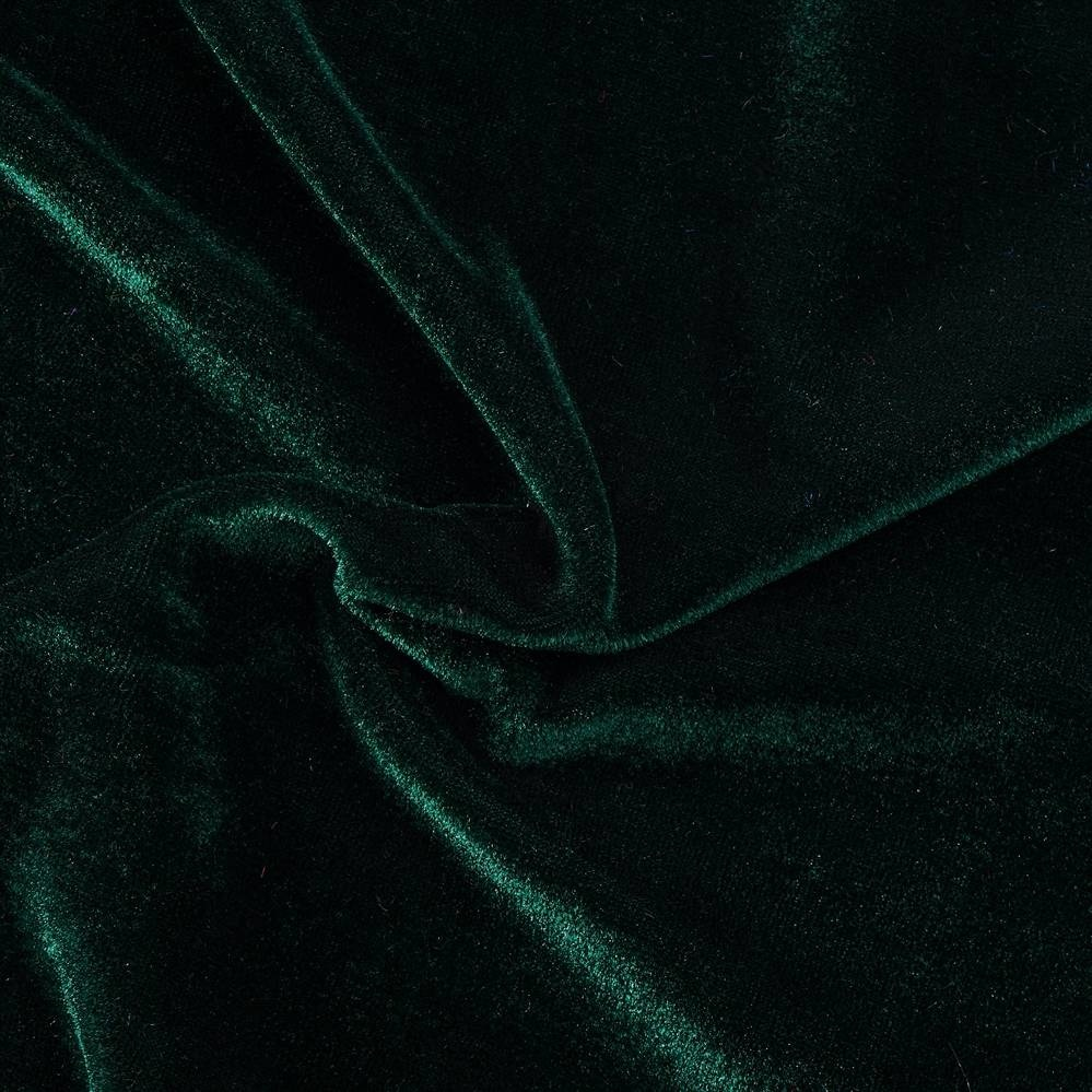 Stretch Fluweel Groen